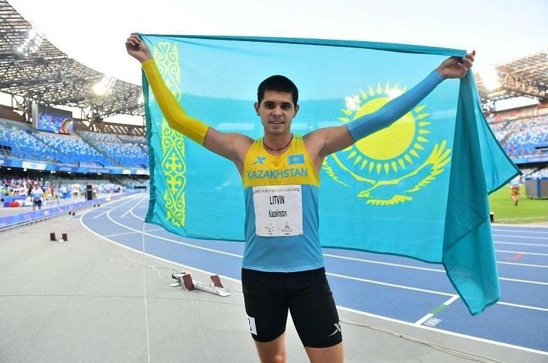 哈萨克斯坦田径运动员在波兰摘银