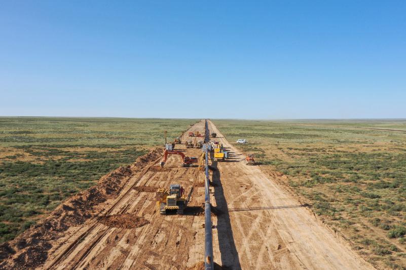 «Сарыарқа» газ құбырының 75%-ы тартылды