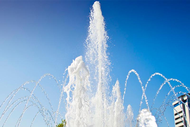 Атырауда 10 фонтан ашылады