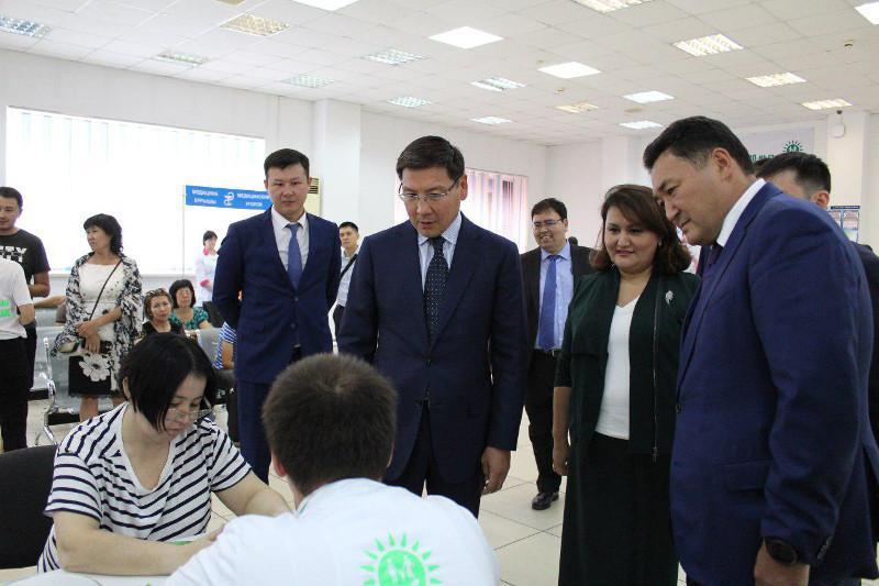 Асқар Жұмағалиев Павлодардағы ХҚО жұмысымен танысты