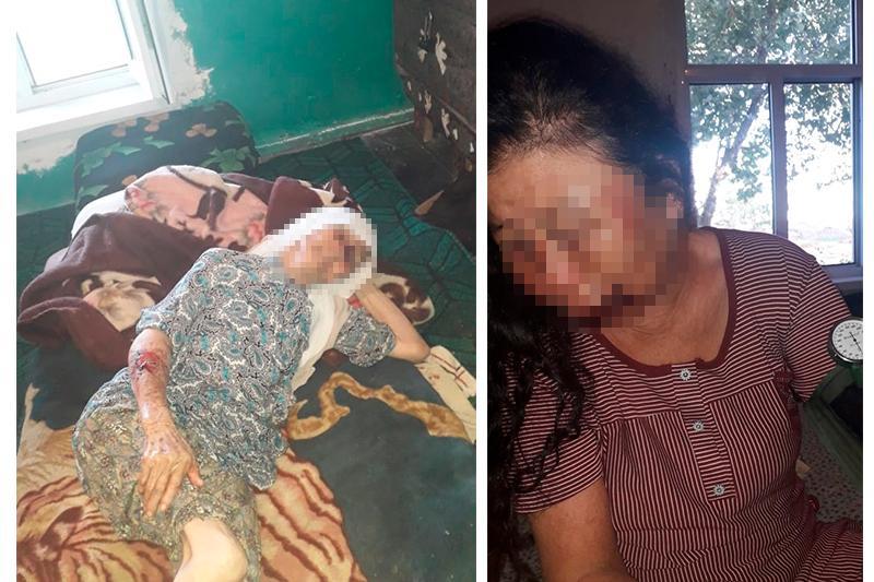 Пожилых женщин избили в Туркестанской области