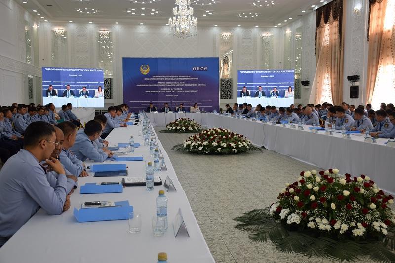 Совершенствование работы местной полицейской службы обсудили в Акмолинской области