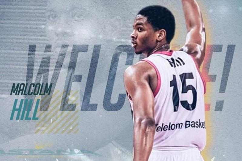 Astana BC signed German Bundesliga swingman Malcolm Hill