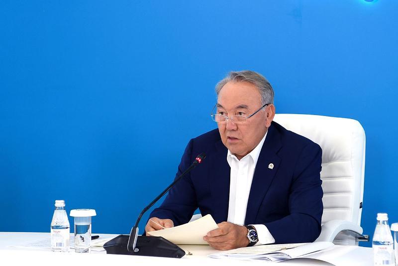 Выступление Елбасы на заседании Бюро Политсовета партии «Nur Otan» (ВИДЕО)