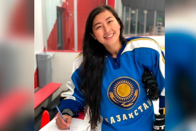 Булбул Картанбаева стала первой представительницей Казахстана в женской НХЛ
