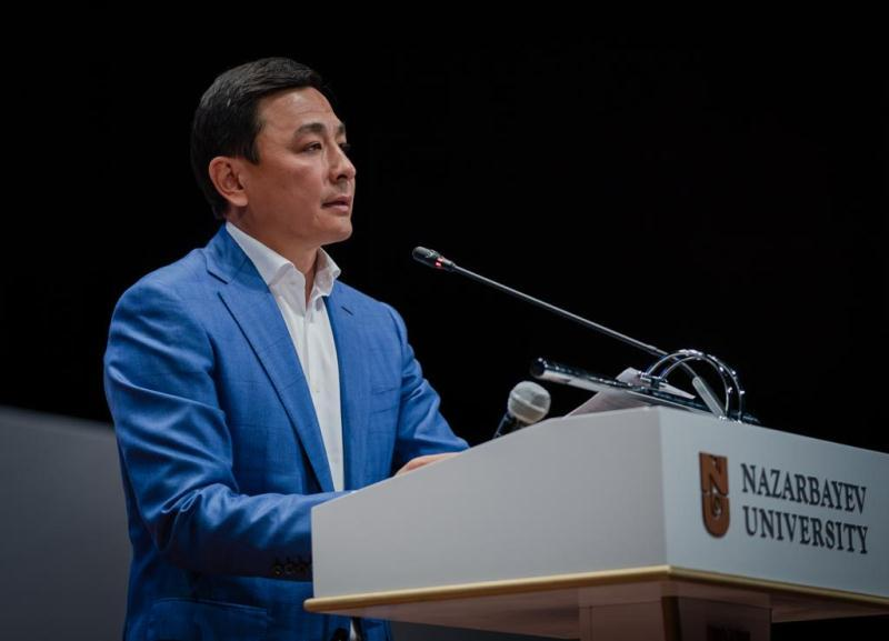 Altay Kulginov addressed participants of Intl Harvard Conference in Nur-Sultan