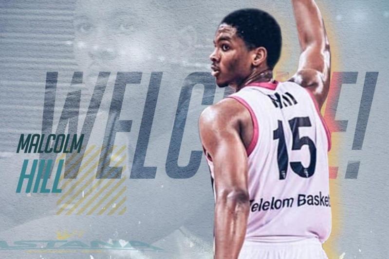 阿斯塔纳篮球队签下美国NBA球员