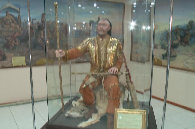 Golden Warrior from Atyrau Museum to be showcased in St. Petersburg