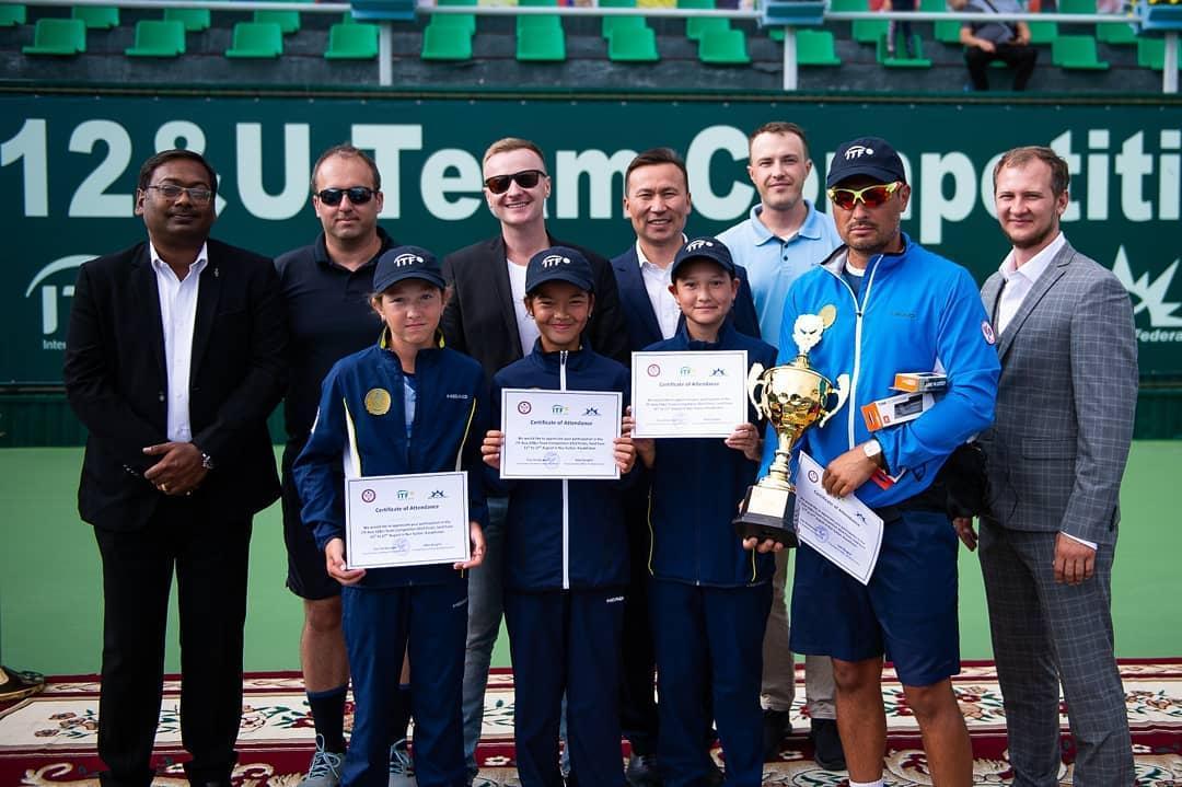 Теннистен Азияның командалық біріншілігінде қазақстандық қыздар жеңімпаз атанды
