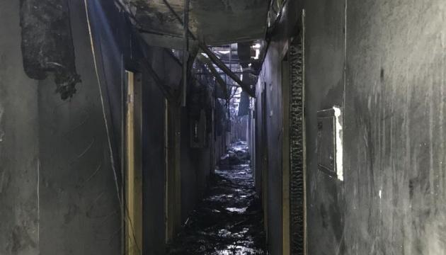 При пожаре в отеле в Одессе погибли 9 человек