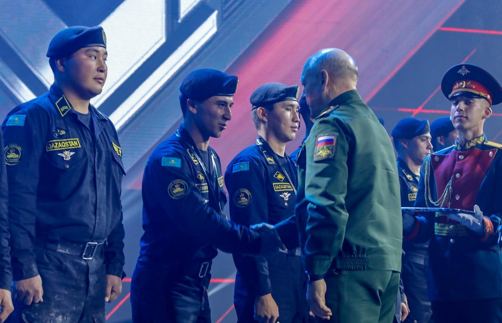 Сборная Казахстана награждена в общекомандном зачете V Армейских международных игр