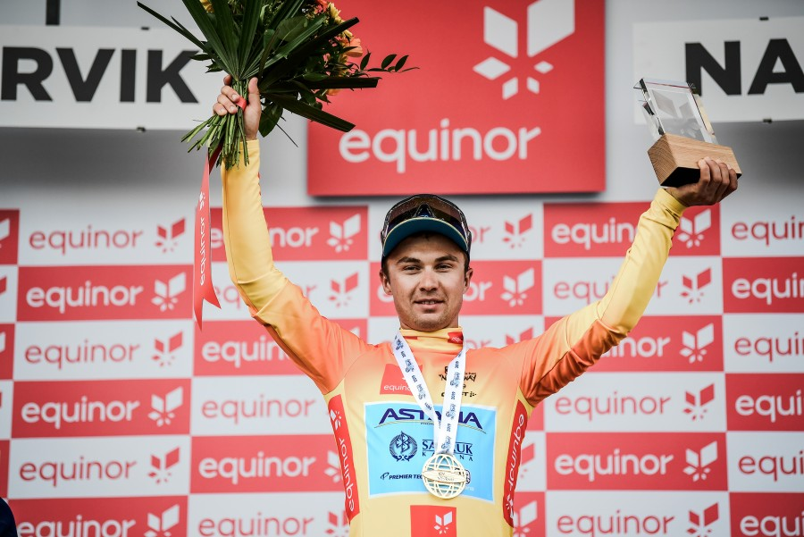 Astana's Alexey Lutsenko wins Arctic Race of Norway 2019