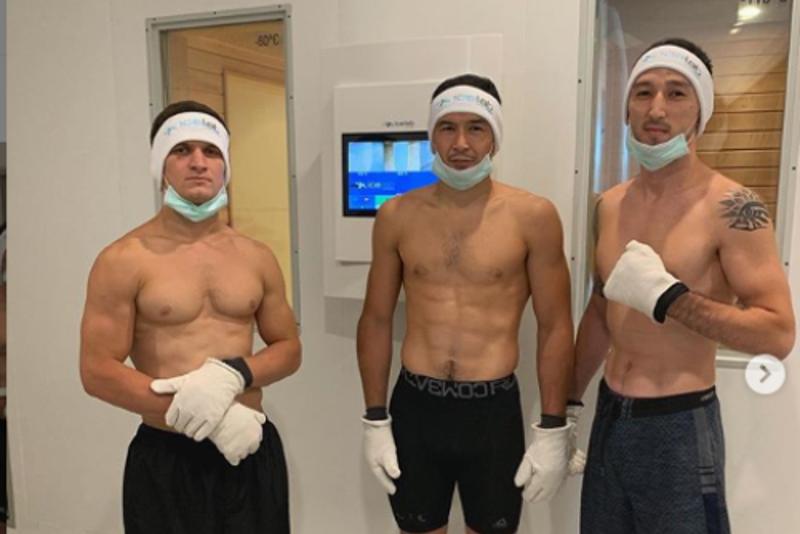 Казахстанский менеджер ММА испытал на себе 110-градусный мороз