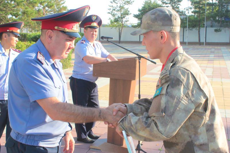 Сотрудник костанайского СОБРа завоевал лицензию на ЧМ