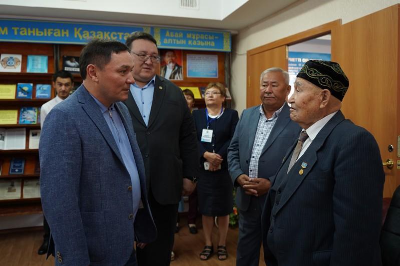 Аким Акмолинской области посетил с рабочей поездкой Коргалжынский район