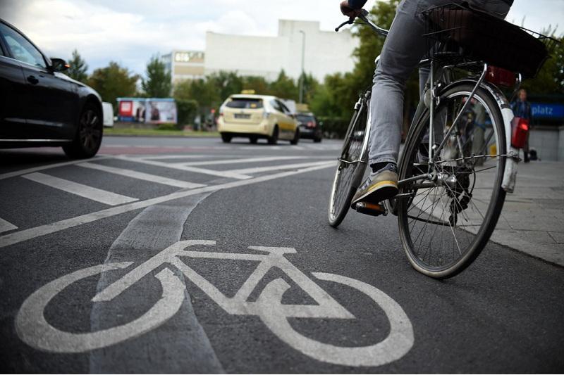 Велодорожки уберут с улиц Кунаева и Байтурсынова в Алматы