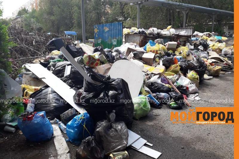 Жители Аксая жалуются на горы мусора в городе