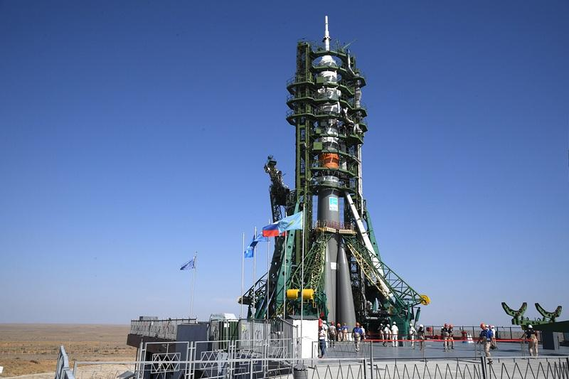 Baikonur ready for testing launch of Soyuz MS-14 to ISS