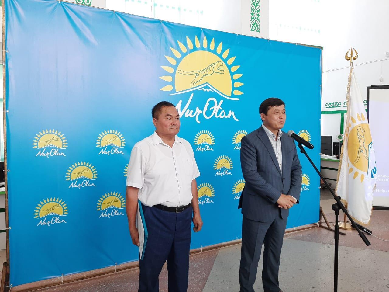 Партия «Nur Otan» начала поездки в регионы по программе «Еңбек»