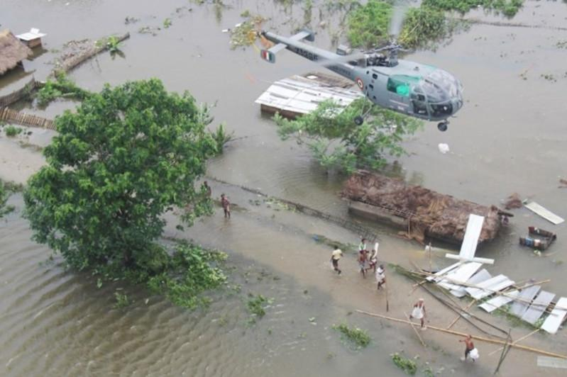 121 человек погиб в результате наводнения в Индии