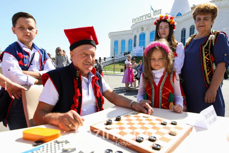 Festival of folk table games held in Kazakhstan