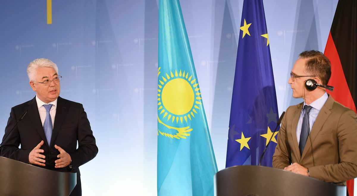 Kazakh FM's first official visit to Germany opens new stage of political, trade-economic interaction