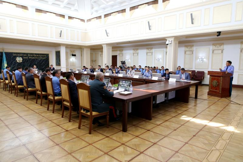 Генпрокурор РК поручил принять жесткие меры по фактам насилия в отношении осужденных