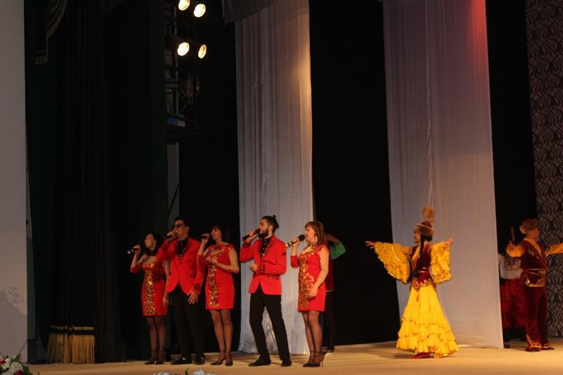 Республиканский фестиваль национальных театров проходит в Костанае