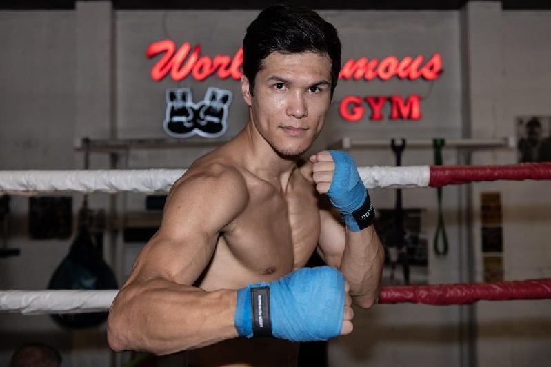 Undefeated Kazakhstani pro boxer to fight at Madison Square Garden