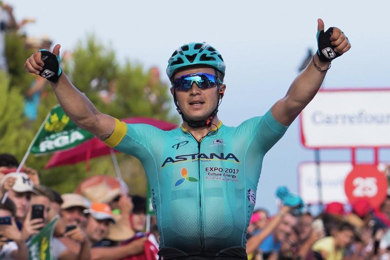 Алексей Луценко поднялся на семь позиций в обновленном рейтинге UCI