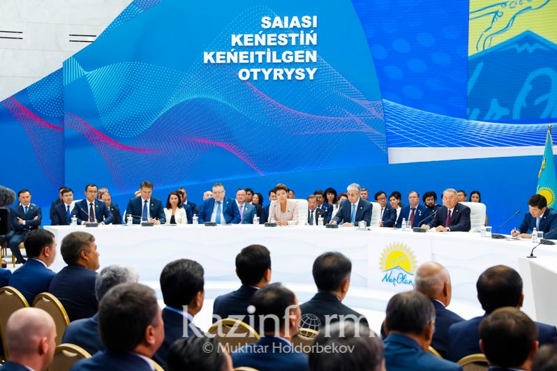 Nazarbayev reveals agenda of extended session Nur Otan Party's Political Council