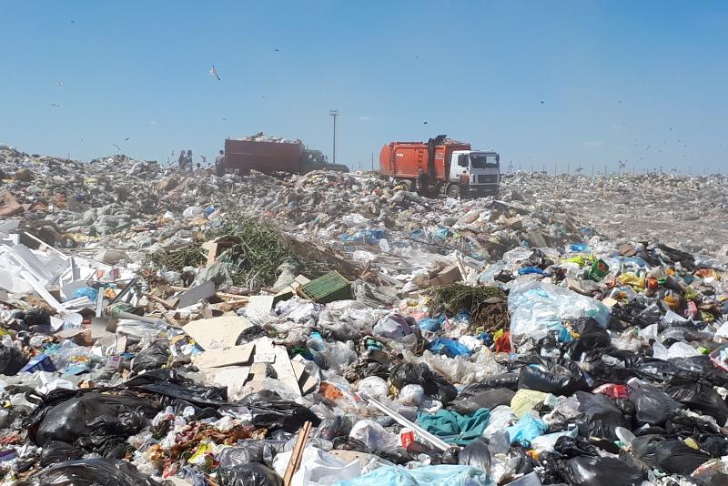 Ақтөбе қаласында қоқыс шығару компаниялары жұмысын тоқтатты