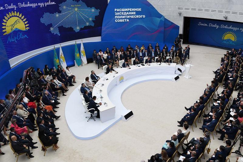 Под председательством Елбасы состоялось заседание Политсовета партии «Nur Otan»