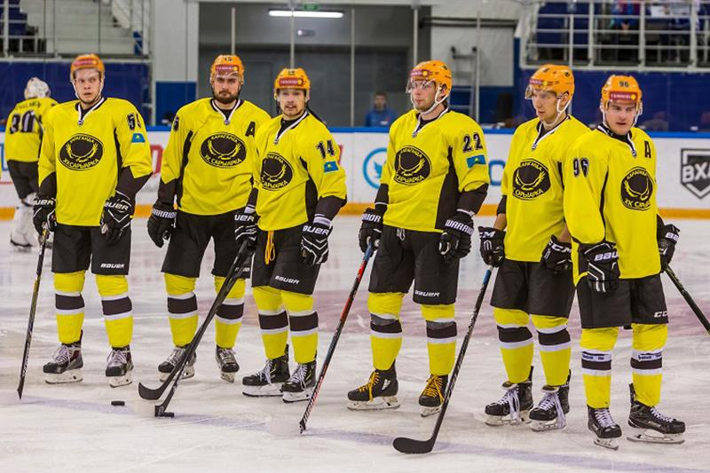 «Сарыарка» обыграла клуб ВХЛ в заключительном туре турнира Дроздецкого