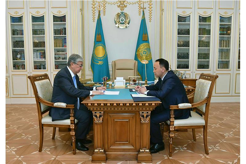 Head of State receives Kostanay region's Governor