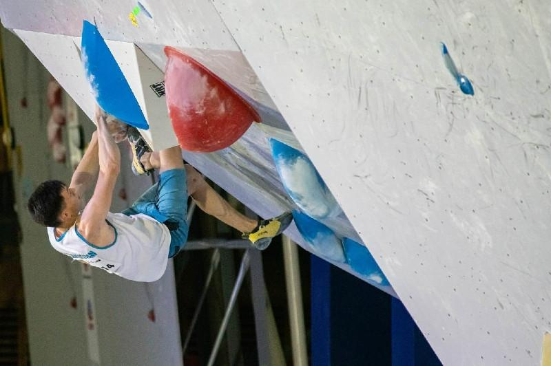 Kazakhstan's Khaibullin bags bronze at Climbing World Championships