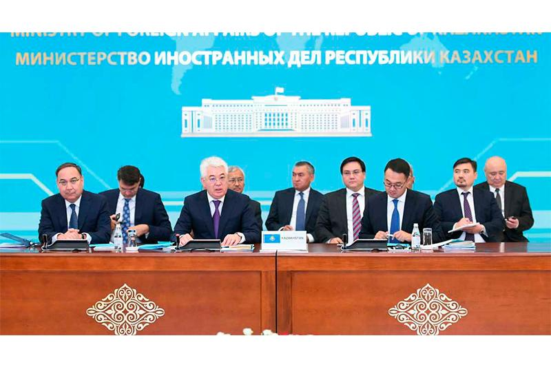 Kazakh capital hosted C5+1 High Level Meeting