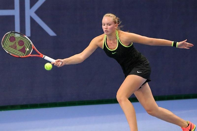美国网球公开赛:哈萨克斯坦选手热巴金娜晋级资格赛最后一轮