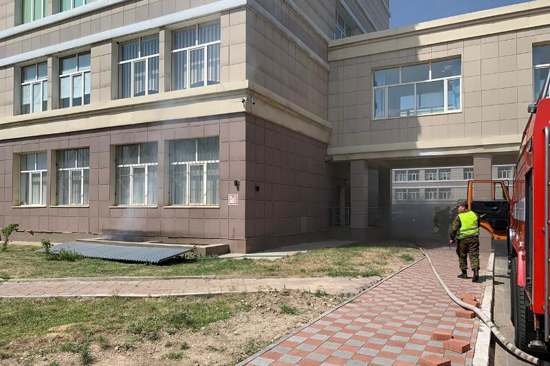 Задымление произошло в одном из зданий КазНУ: эвакуировано 20 человек