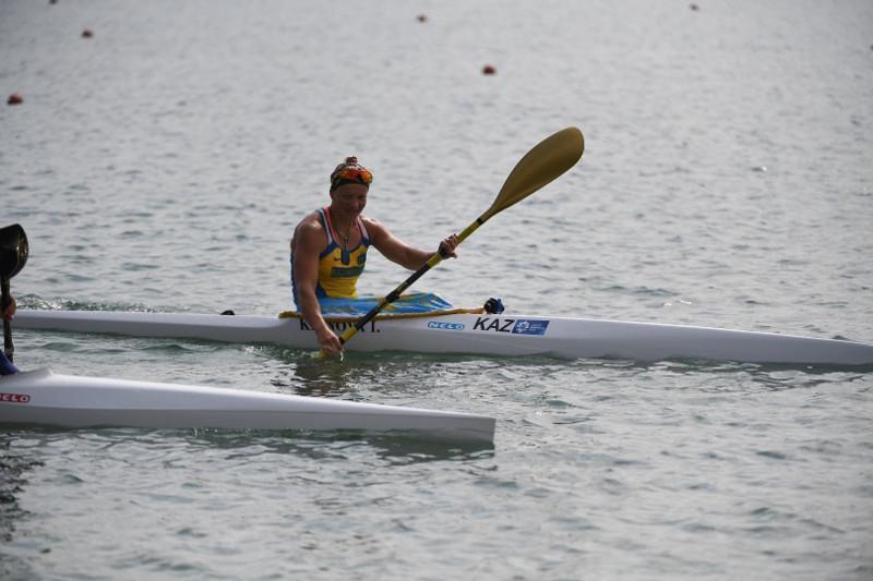 皮划艇世锦赛:哈萨克斯坦选手晋级半决赛