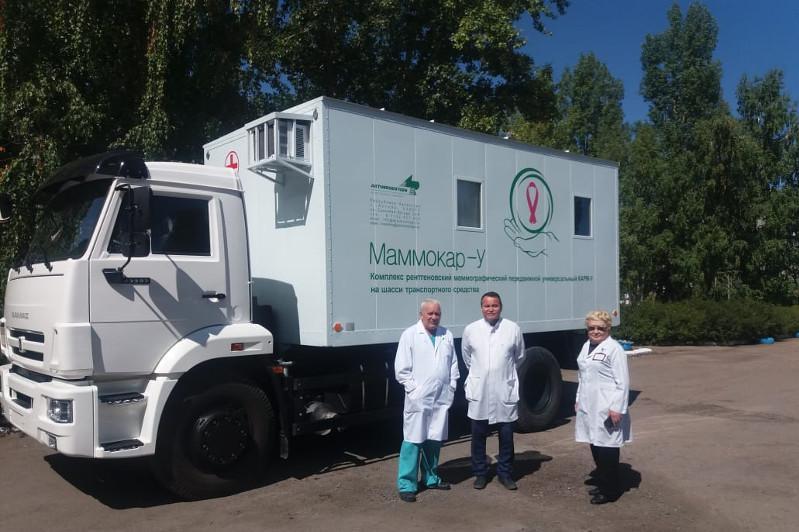 Еще один передвижной маммографический комплекс появился в Акмолинской области