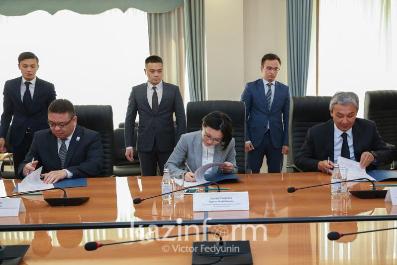 Kazakh Information & Social Devpt Ministry, NOC, and NPC to co-op for Olympics and Paralympics media support
