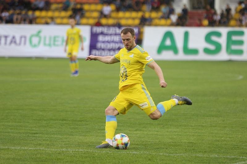 «Астана» разнесла БАТЭ в плей-офф Лиги Европы