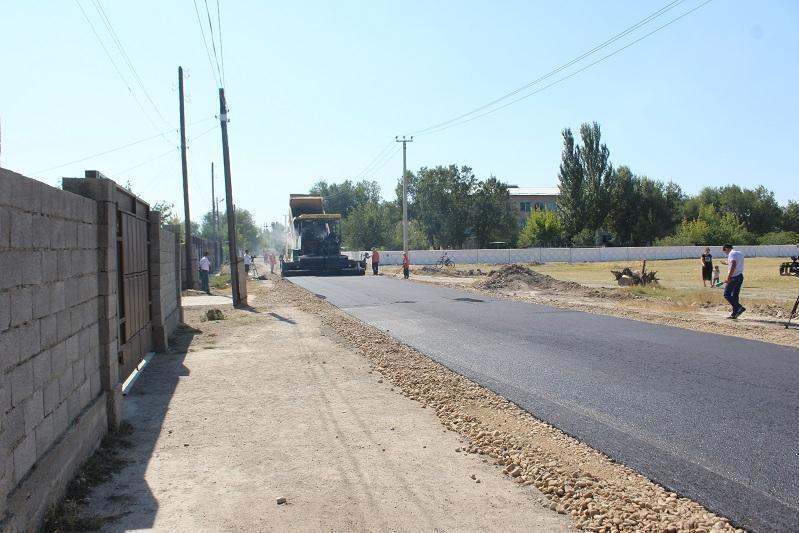 148 улиц отремонтируют в Таразе до конца года