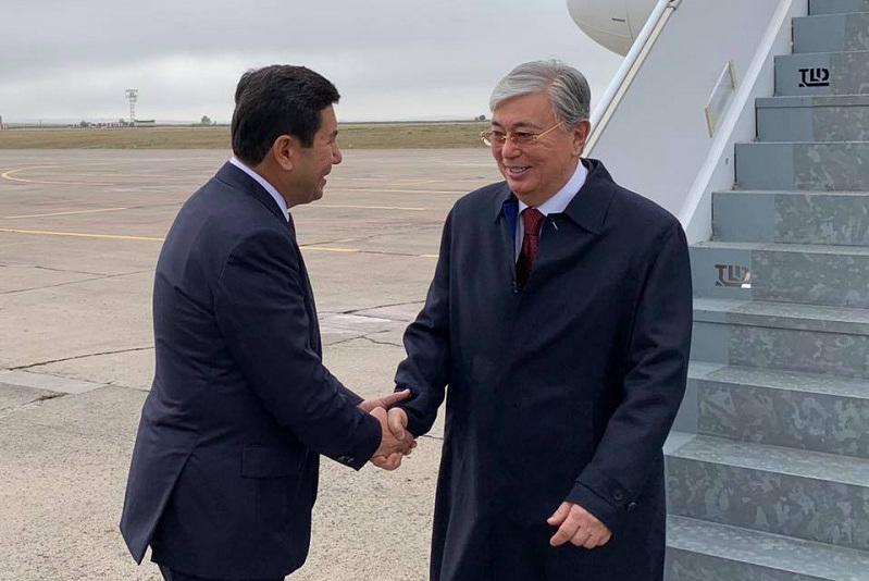 Касым-Жомарт Токаев прибыл в Карагандинскую область