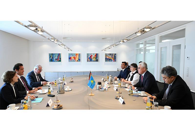 Казахстанско-германское сотрудничество: акцент на инвестиции