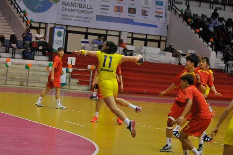 Kazakhstan loses in Asian Handball Championship first round
