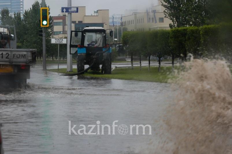 Когда решат проблему подтоплений в столице, рассказал Алтай Кульгинов