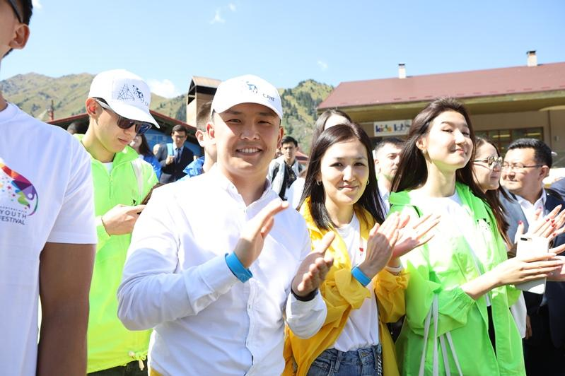 Как проходит первый фестиваль молодежных лидеров Центральной Азии в Алматы
