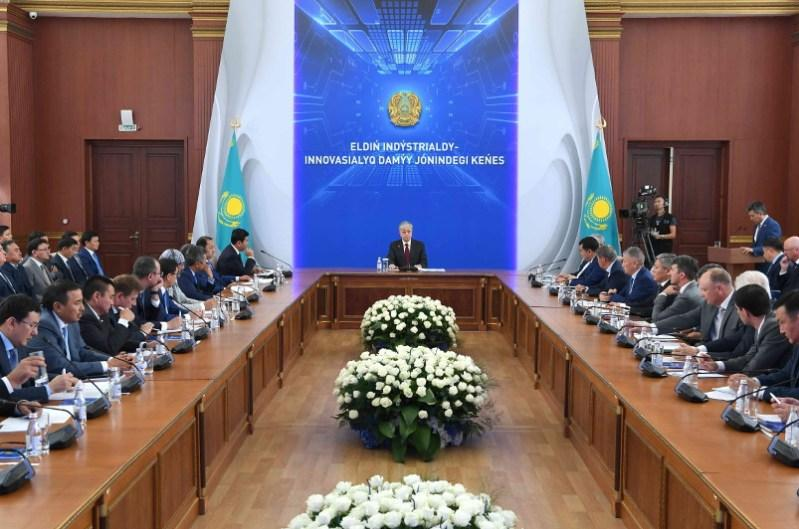Visit to Karaganda: President discusses country's industrial & innovative devpt